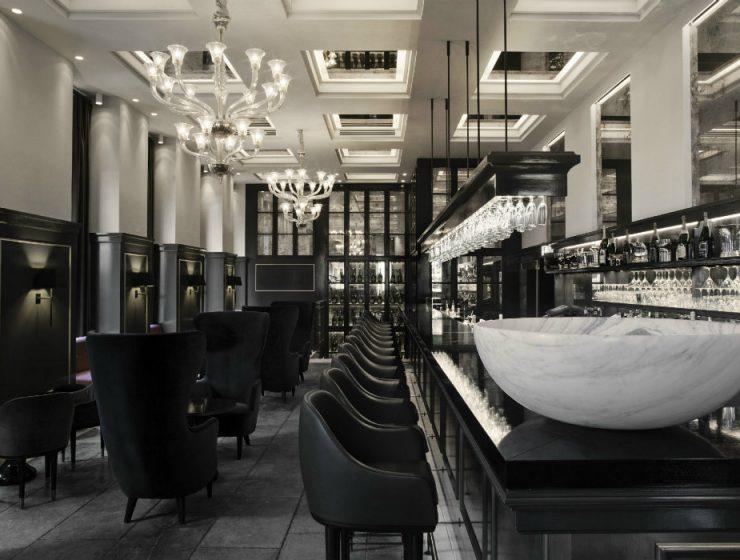 Balthazar Champagne Bar U2013 Iconic Bar Lounge Seating Area Ideas