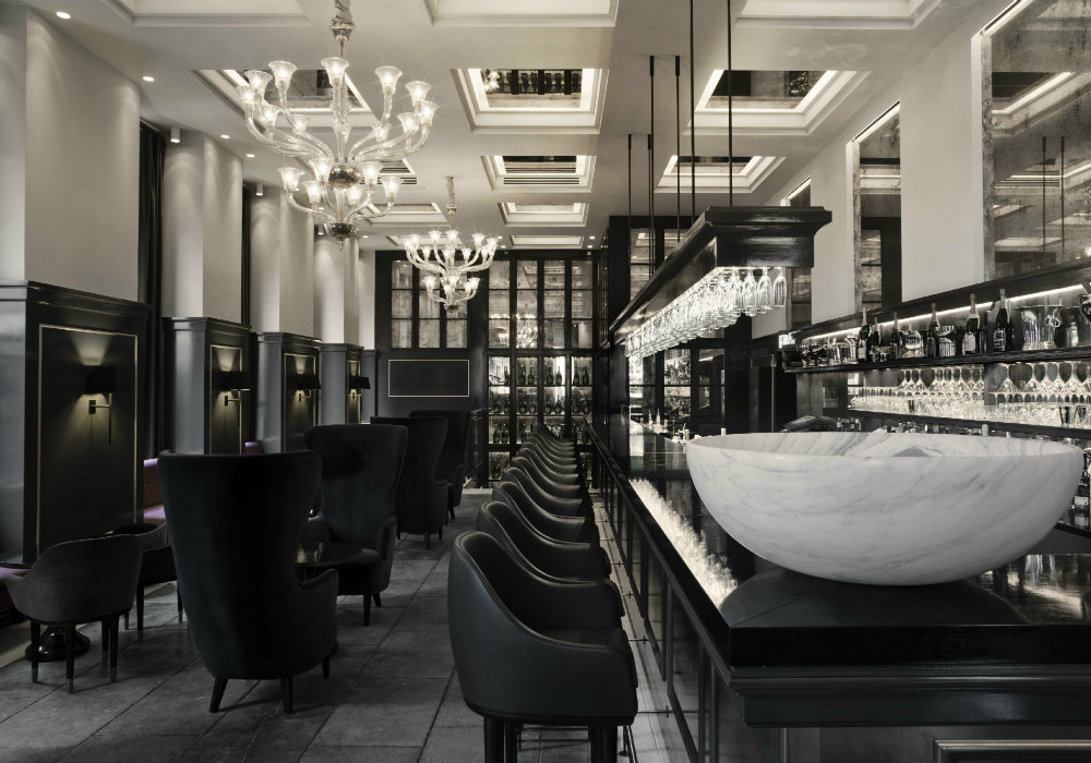 Balthazar Champagne Bar – iconic bar lounge seating area ideas – Bar ...