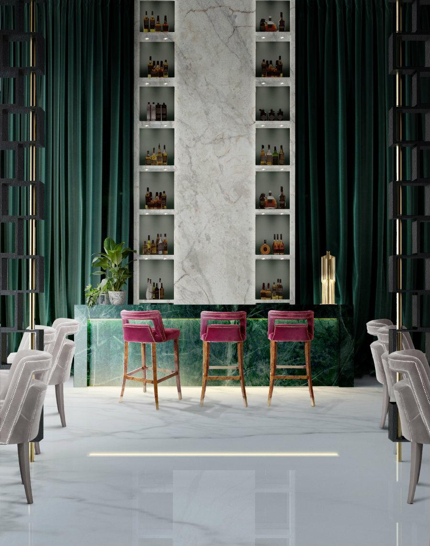Bar stools with backs ideas for home bar design