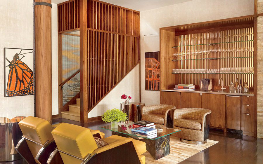 Cooper Robertson Partners home bar ideas