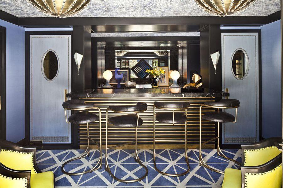 Kelly Wearstler home bar furniture ideas