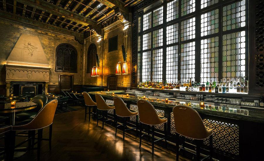 The Campbell New York bar - best bar furniture design ideas