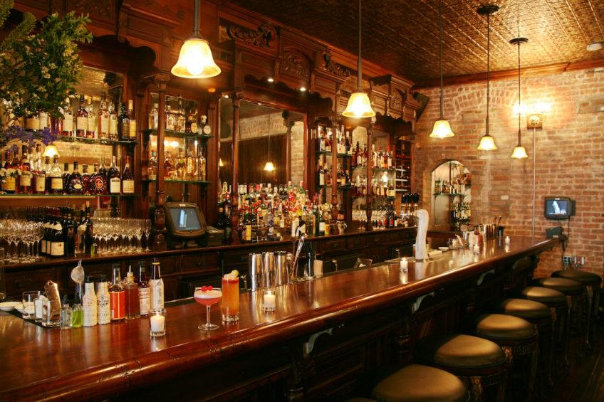 Clover Club bar interior design ideas