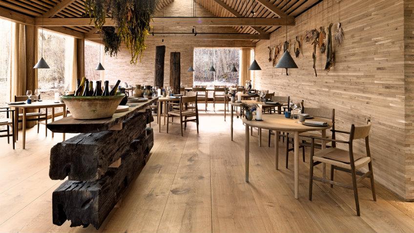 Noma restaurant interior design concept