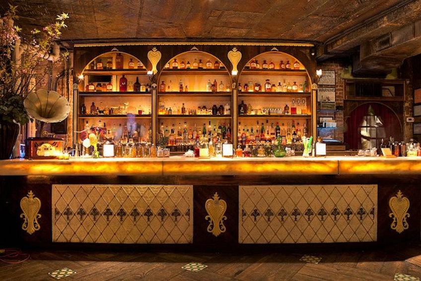 apothéke bar interior design concept
