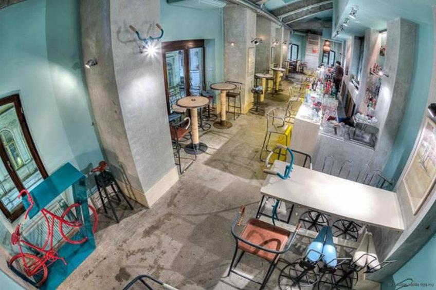 bicyle bar interior design ideas