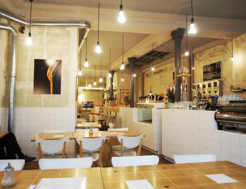 coutume cafe interior design concept