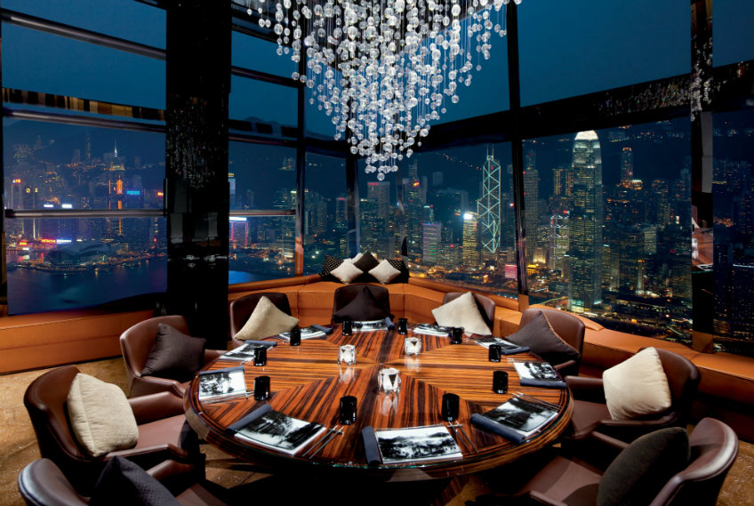 Ozone bar lounge design