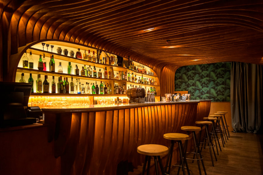 bar interior design project paradiso