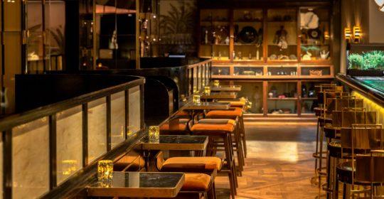 cocktail bar interior design project