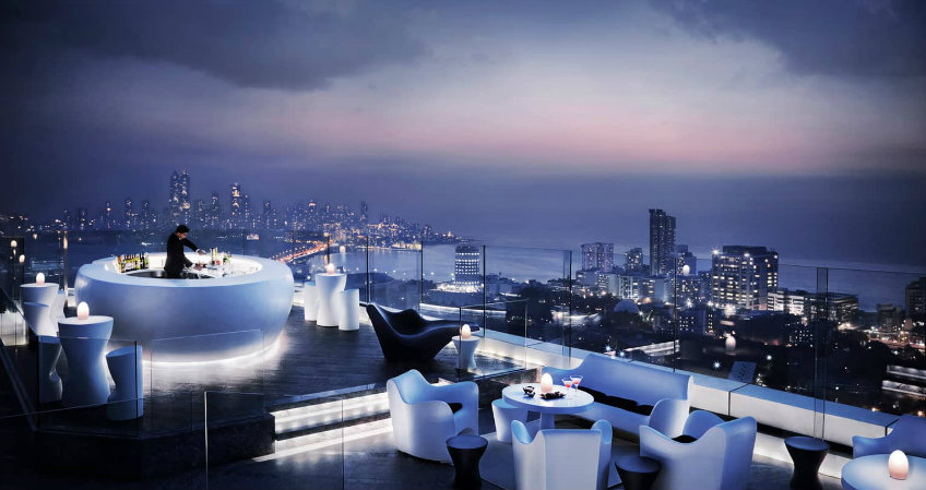 four seasons rooftop bar bar furniture