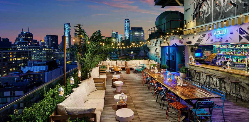 rooftop bars STK NYC