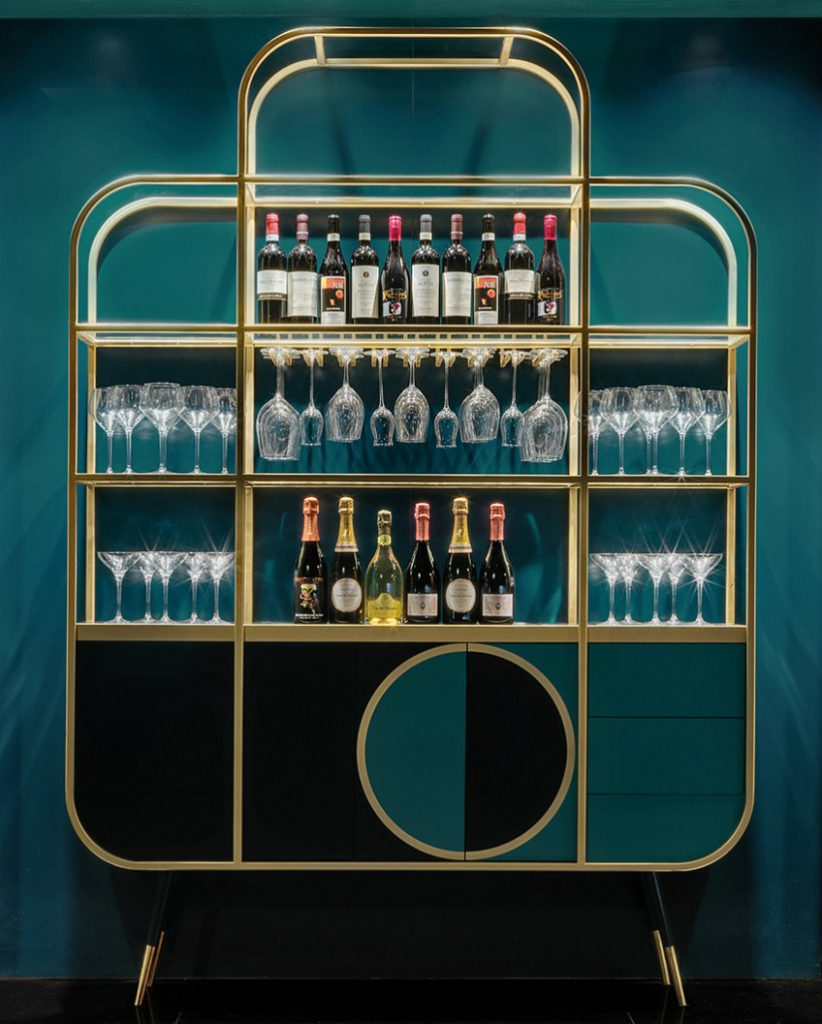 Bar furniture ideas - bar cabinet