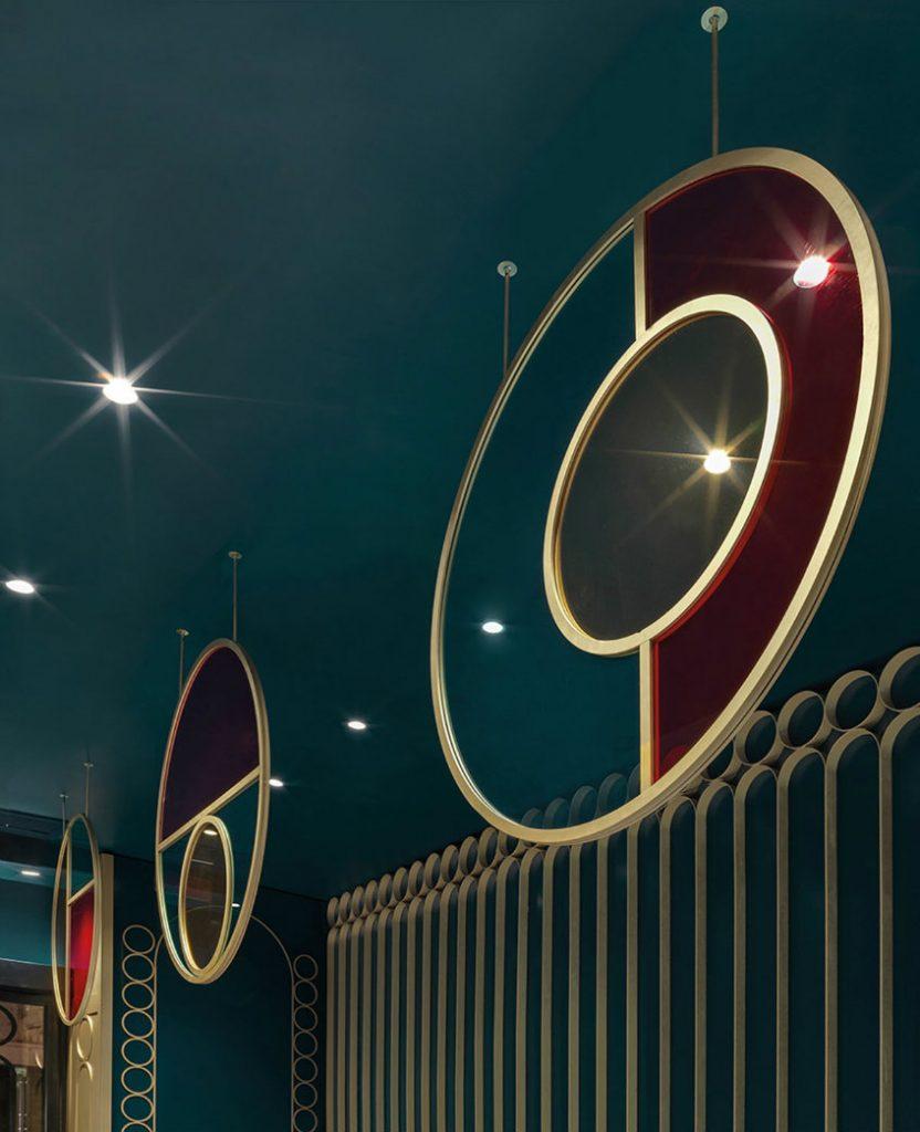 Contemporary Bar decor ideas - Liòn bar, an art deco revamp