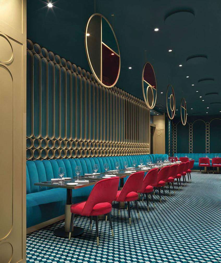Midcentury bar furniture ideas Lion Rome by Daniela Colli