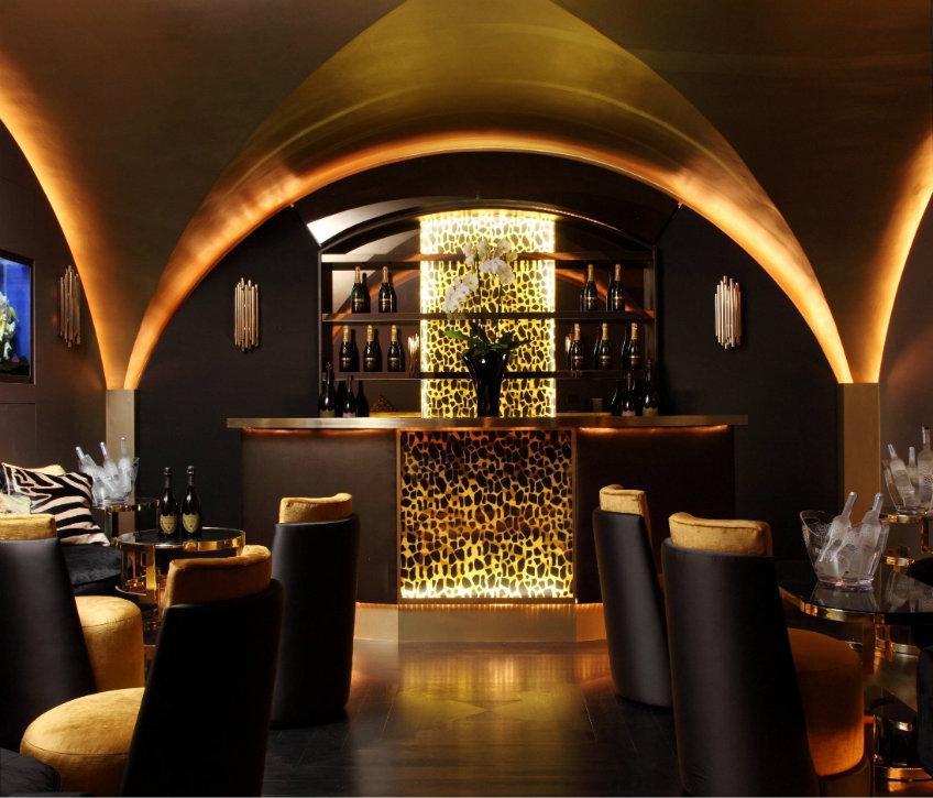Midcentury bar lighting ideas