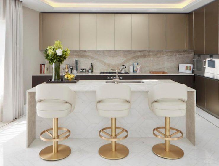 Kitchen Counter Stools Ideas - Russel Bar Chair - Kitchen Decor
